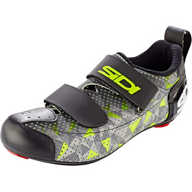 Sidi T-5 Air Carbon Scarpe Uomo, grey/yellow/black